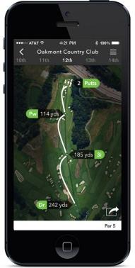 Arccos Golf iPhone screen shot