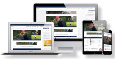 LPGA Website and mobile applications