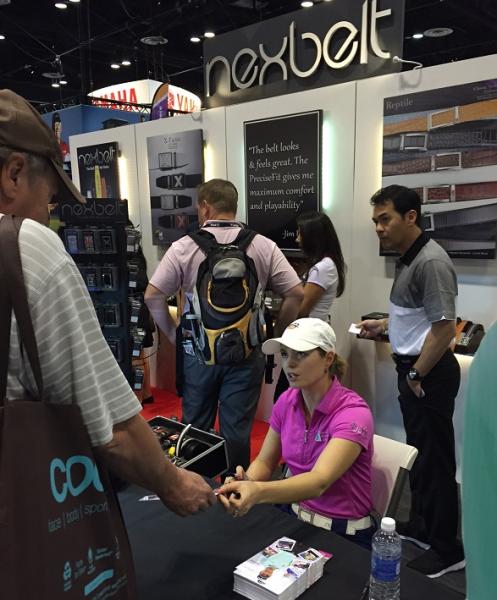 Nexbelt at the PGA Merchandise Show
