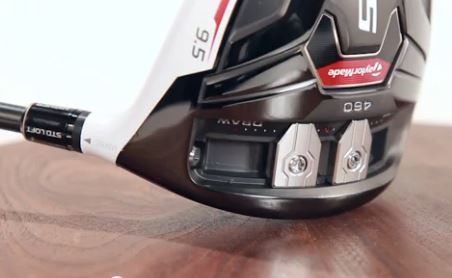TaylorMade R15's Front Track system and sliding weights